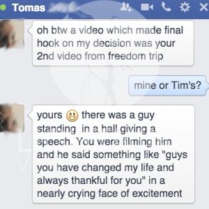 Testimonial Tomas+ssm logo+ze testivideo+craigslist